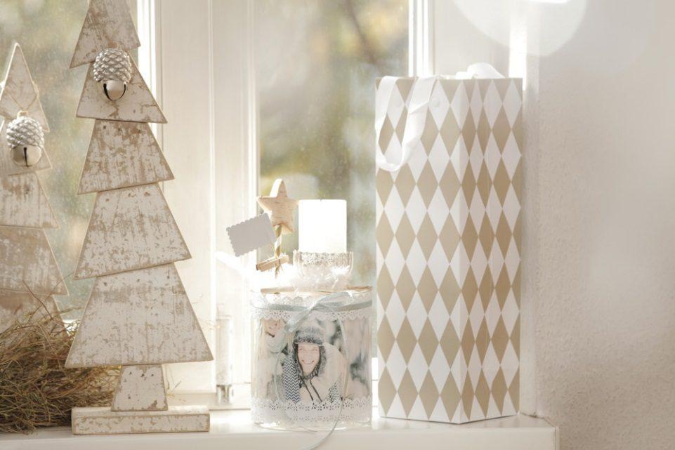 Individuell gestaltbare Fotokerze zu Weihnachten verschenken | ifolor