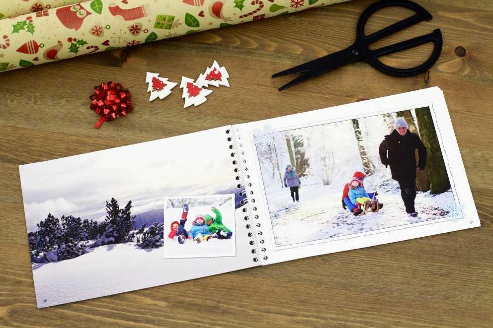 weihnachtliche fotogeschenke f r die gro eltern ifolor. Black Bedroom Furniture Sets. Home Design Ideas