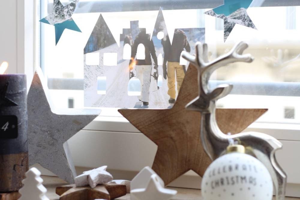weihnachtliche fensterdekoration aus ihren sch nsten fotos. Black Bedroom Furniture Sets. Home Design Ideas